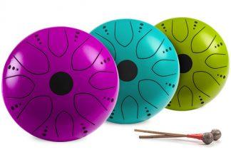 Čakrové bubínky barevné